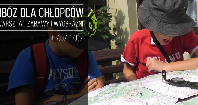 Obóz dla chłopców 2016