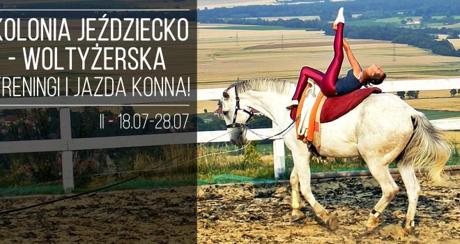 Kolonia jeździecko – woltyżerska 2016