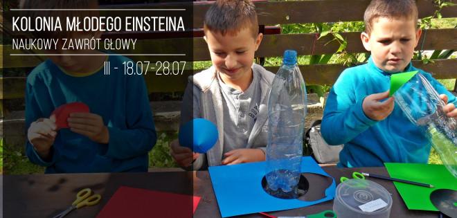 Kolonia Młodego Einsteina 2016